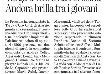 La Stampa Savona - 4 aprile